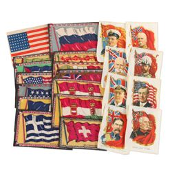 Patriotic WWI Era Fabric Patches