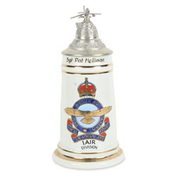 WWII RCAF Lithophane Regimental Stein