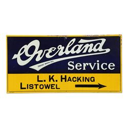 Overland Auto Service Sign