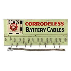 Bowes Battery Cable Display Rack