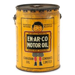 En-ar-co Motor Oil Can