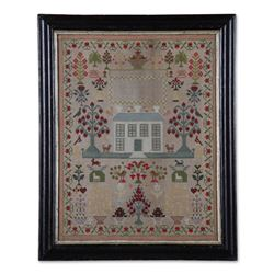 Exceptional Needlework Sampler