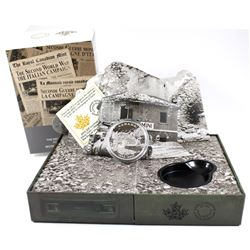 2015 Canada $20 End of the Italian Campaign with Diorama Box (Tax Exempt)