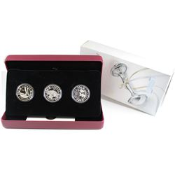 2013 Canada $20 Birth of the Royal Baby Fine Silver 3-coin Set (Tax Exempt)