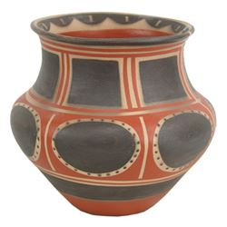 Santa Domingo Pottery Jar - Robert Tenorio