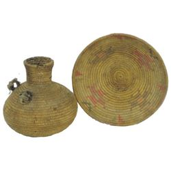 2 Old Apache Baskets