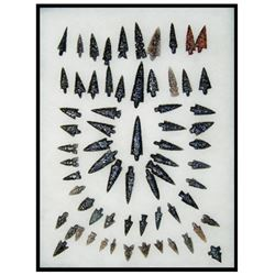Obsidian Arrowhead Display