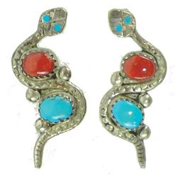 Zuni Earrings - J.J. Nieto