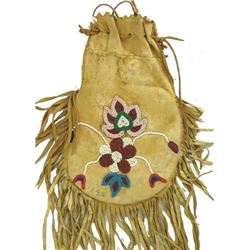 Woodlands Beaded Bag