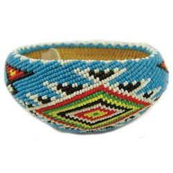 Paiute Beaded Basket