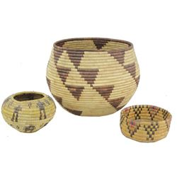 3 Basketry Items
