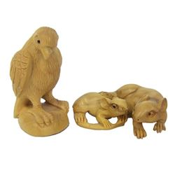 2 Netsuke Carvings