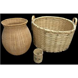 3 Eastern Baskets - Various Makers