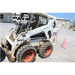 2005 BOBCAT S185 SKID STEER LOADER; VIN/SN:525023949 - WHEELED, GP BUCKET, PALLET FORKS, HIGH FLOW,
