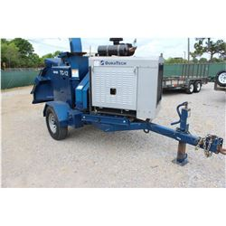 2012 DURA TECH TC12 CHIPPER VIN/SN:122120034 - CAT DIESEL ENGINE, MTD. ON S/A TRAILER, PINTLE HITCH,