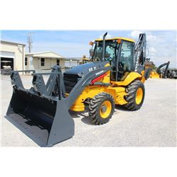 "2011 VOLVO BL70 LOADER BACKHOE; VIN/SN:20455 - 4X4, E-STICK, 24"" HOE BUCKET, 48"" CLEAN OUT BUCKET, E"