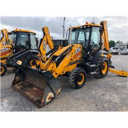 2015 JCB 3CX14HFCM LOADER BACKHOE; VIN/SN:TC02273292 - 4X4, E-STICK, MP BUCKET, FLIP FORKS, 24'' HOE