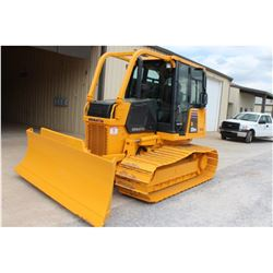 2008 KOMATSU D37PX-21 CRAWLER TRACTOR; VIN/SN:5846 - 6 WAY BLADE, ECAB W/ AC, SWEEPS, REAR SCREEN, 1