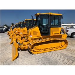 2010 KOMATSU D39PX-22 CRAWLER TRACTOR; VIN/SN:3391 - 6 WAY BLADE, ALLIED H4A REAR WINCH, ECAB W/ AC,