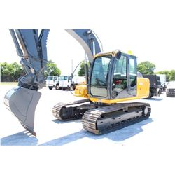 "2011 JOHN DEERE 120D HYDRAULIC EXCAVATOR; VIN/SN:37327 - 9'-11'' STICK, 30'' BUCKET, 60"" CLEAN OUT B"