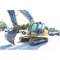 2012 JOHN DEERE 120D HYDRAULIC EXCAVATOR; VIN/SN:37596 - 9'-11'' STICK, 30'' MP BUCKET, 60  CLEAN OU