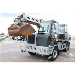 "2007 GRADALL XL4100-II WHEELED EXCAVATOR; VIN/SN:4100000208 - 60'' CLEAN OUT BUCKET, 36"" BUCKET, CLA"
