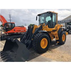 2009 VOLVO L60F WHEEL LOADER; VIN/SN:61971 - GP BUCKET, FORKS, ECAB W/ AC, 20.5R25 TIRES, 952 HOURS