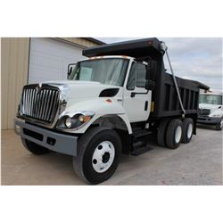 2012 INTERNATIONAL 7400 WORK STAR DUMP TRUCK; VIN/SN:1HTWHAAR9CJ043677 - T/A, 300 HP INT. DIESEL, AL