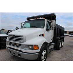2005 STERLING M8500 DUMP TRUCK; VIN/SN:2FZHCHDC85AV05571 - T/A, 250 HP CAT DIESEL ENGINE, ALLISON A/