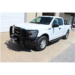 2016 FORD F150 PICKUP TRUCK; VIN/SN:1FTFX1EF2GFB37649 - 4X4, EXT. CAB, V8 GAS, A/T, AC, FRONT MTD. W