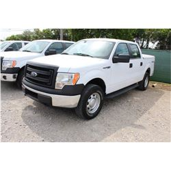 2014 FORD F150 PICKUP TRUCK; VIN/SN:1FTFW1EF8EKE58375 - 4X4, CREW CAB, V8 GAS, A/T, AC, BED COVER, 6