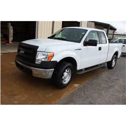 2014 FORD F150 PICKUP TRUCK; VIN/SN:1FTEX1EM3EFA94902 - 4X4, EXT. CAB, V6 GAS, A/T, AC, 56,159 MILES