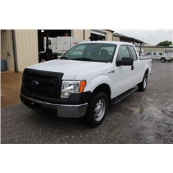 2014 FORD F150 PICKUP TRUCK; VIN/SN:1FTFX1EF6EKD94513 - 4X4, EXT. CAB, V8 GAS, A/T, AC, BED COVER, 7
