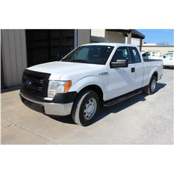 2014 FORD F150 PICKUP TRUCK; VIN/SN:1FTEX1CM3EFB18277 - EXT. CAB, V6 GAS, A/T, AC, 52,664 MILES