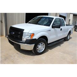 2014 FORD F150 PICKUP TRUCK; VIN/SN:1FTEX1CM2EFA85305 - EXT. CAB, V6 GAS, A/T, AC, 53,729 MILES