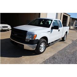 2013 FORD F150 PICKUP TRUCK; VIN/SN:1FTEX1CM4DFA80847 - EXT. CAB, V6 GAS, A/T, AC, 48,227 MILES