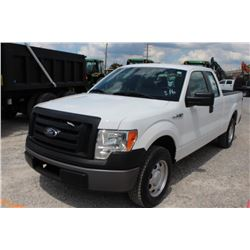 2012 FORD F150 PICKUP TRUCK; VIN/SN:1FTEX1CM2CFB36766 - EXT. CAB, V6 GAS, A/T, AC, 55,330 MILES