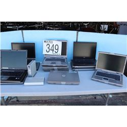 LAPTOPS, EXTERNAL HARD DRIVE