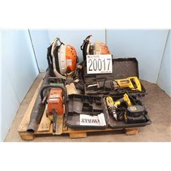 BLOWERS, CHAIN SAW, RECIPROCATING SAW, DRILL