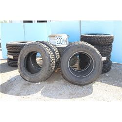 RIMS, TIRES - (3) LT 235/85R16, (4) LT225/75R16, (1) LT245/75R17, (2) 265/70 R19.5, and (3) P235/70