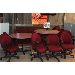 TABLES, CHAIRS, SOFAS