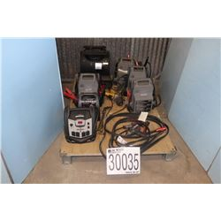 BATTERY CHARGERS, IMPACT WRENCHES, CUTTING TORCH, AIR DRYER