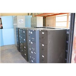 FILE CABINETS, STORAGE LOCKERS