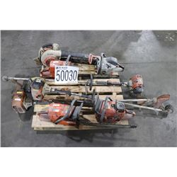 SAWS, GRASS TRIMMERS, BLOWER