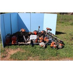 CHAIN SAWS, TRIMMERS