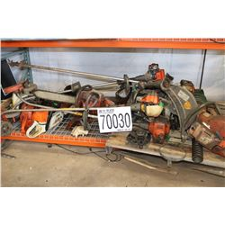 TRIMMERS, CHAINSAWS, CONCRETE SAW, TAMPER