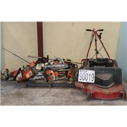 SAWS, TRIMMERS, BLOWERS, MOWER