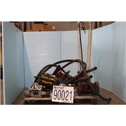JACKS, WRENCHES, TRANSFER PUMPS, CABLE CUTTER, HAMMER DRILL
