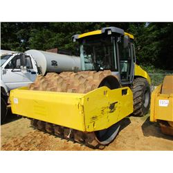 "2015 DYNAPAC CA2500PD ROLLER, VIN/SN:A016200 - VIBRATORY, 84"" PADFOOT DRUM, ECAB W/AC, METER READING"