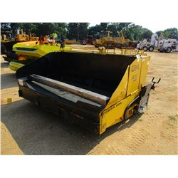 2003 GEHL 1438 ASPHALT PAVER, VIN/SN:KK0314019 - 8' 12' SCREED, KOHLER ENGINE, METER READING 2,722 H